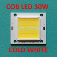 COB LED 30W HPL Cold White High Power LED 70 Chip Putih Super Terang