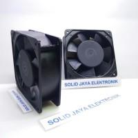 Kipas AC 220V 9x9 CM - Fan AC 220 Volt - Kipas Pendingin Elektronik -