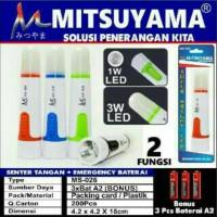 Senter Tangan Emergency Terang Murah MS-026 Mitsuyam