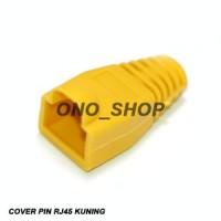 RJ45 Plug Boot Cover Kuning