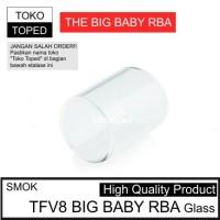 Smok TFV8 BIG BABY RBA TANK Replacement Glass kaca pengganti coil
