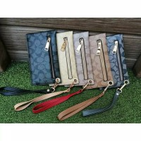 Supplier Tas dompet wanita branded dompet zip sleting coach wallet
