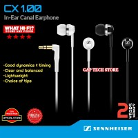 Sennheiser CX 1.00 / CX1.00 In-Ear Canal Earphone Garansi Resmi