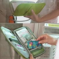 TN004 Paspor Pouch Dompet TERMURAH Tas Penyimpanan Tiket Passpo