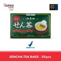 Teh kemasan Yamamotoyama Sencha Tea Bag - green tea 40g