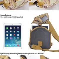 AR010 Tas Selempang Army Multifungsi Tactical Assault Shoulder Bag