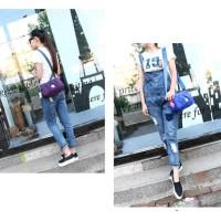 TS57 Autumm Doll Women Sling Bag / Tas Wanita Selempang - Black