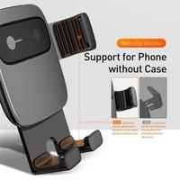 BASEUS CAR HOLDER AIR VENT CUBE GRAVITY MOBILE PHONE CAR MOUNT