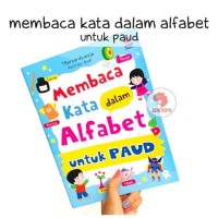 Zoetoys Membaca Kata Dalam Alfabet Untuk Paud | Buku Edukasi Anak