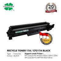 Toner Cartridge Remanufactured HP 17A CF217A - HP M102 M130