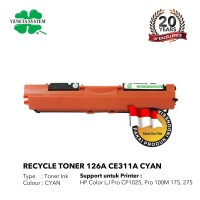 TONER CARTRIDGE HP 126A CE311A/312A /313A - PRINTER LASERJET CP1025