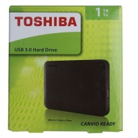 Harddisk Eksternal Toshiba 1 TB Canvio Ready