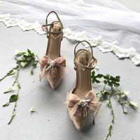 Rosana Nude Wedding shoes 12cm