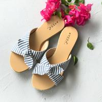Camie Stripe Slip-on Flats