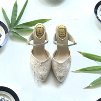 Nalia Gold Party shoes 7cm