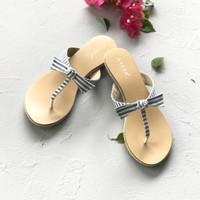 Amy Stripe Sandals