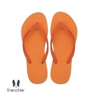 Frenchie Slipper Slim All Orange SSL05