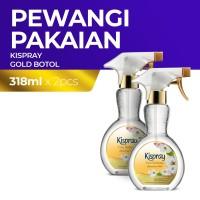 Kispray Botol Glamorous Gold 318ML - 2 Botol