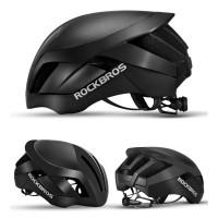ROCKBROS Helm Sepeda Cycling Bike Helmet - TT-30 - Black