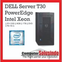 Server Dell T30 Microtower T30 E3-1225 v5