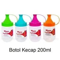 Botol Kecap 200 ml / Botol Saos / Botol Mayonnaise / Squeeze Bottles