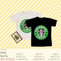 Kaos Anak Laki - Laki - Starby Coffe Tee