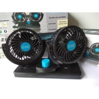 Kipas Angin Mobil Double Headed GSE-T303 Car Cooling Double Fan