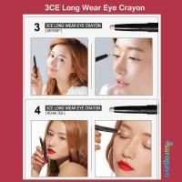 [sarogayo] READY 3CE ORIGINAL SALE Matte Lip Crayon Long Wear Eye
