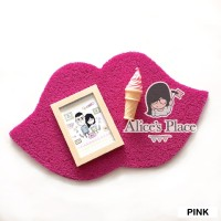 Alices Place Doormat PVC - Lips