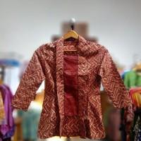 Blouse Batik Wanita Cap Merah