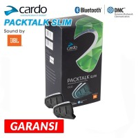 Intercom Packtalk Slim JBL Bluetooth Communicator By Cardo