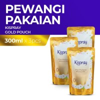 Kispray Refill Pouch Glamorous Gold - 3pcs