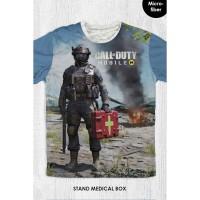 Kaos Anak & Dewasa - Game Call Of Duty - Stand Medical Box