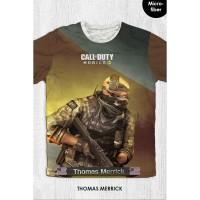 Kaos Anak & Dewasa - Game Call Of Duty - Thomas Merrick