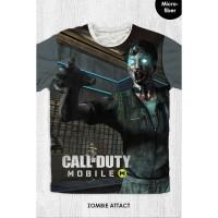 Kaos Anak & Dewasa - Game Call Of Duty - Zombie Attack