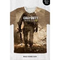 Kaos Anak & Dewasa - Game Call Of Duty - Walking Stand Gun
