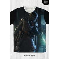 Kaos Anak & Dewasa - Game Call Of Duty - Soldier Fight