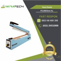 Mesin Hand Sealer FS-205 AL / Mesin Press Plastik Lebar Seal 5mm