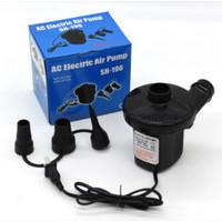 Pompa Angin Elektrik Tiup Vakum Electric Air Pump kasur angin -
