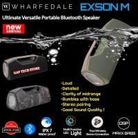 Wharfedale Exson M Ultimate Versatile Portable Bluetooth Speaker