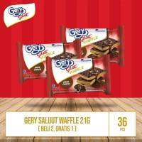Gery Saluut Waffle 21g (Beli 2 Gratis 1 + 1 Binder Gery)