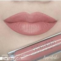 Wardah Exclusive Matte Lip Cream - No. 03. SEE YOU LATTE thumbnail