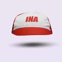 League Cycling Cap ICF TIMNAS - Merah