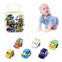 Mainan Mobil 6 Pcs Hadiah Anak / Set Mobil 6 Pcs