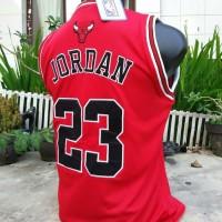 TERMURAH Jordan Bulls #23 NBA Jersey Special Gift Promo TERBARU