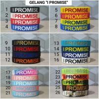 PALINGLARIS Gelang I Promise ( I Promise Ballerbands) TERMURAH