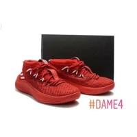 TERBARU sepatu basket adidas dame 4 red sepatu pria PALINGLARIS