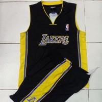 TERLARIS Setelan Jersey Baju Basket Anak NBA GO GRADE ORI Los Angeles