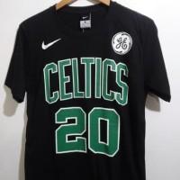 TERLARIS TSHIRTS KAOS BASKET NBA GAMETIME BOSTON CELTICS IRVING /