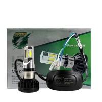 Lampu Motor Mobil LED socket H4 H6 HS1 6 sisi hi low beam RTD 02 E